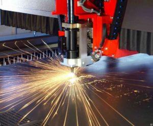 Лазерная резка броневой стали